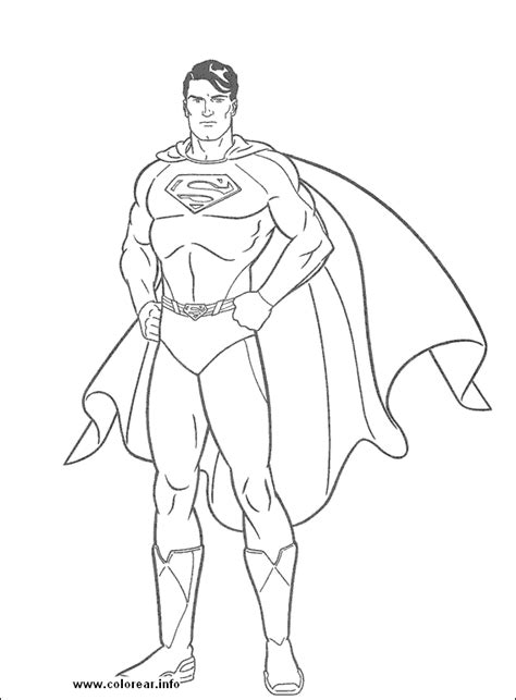 superman coloring page free superman coloring pages for children and line drawing