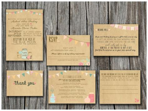 printable wedding invitations uk whimsical print your own vintage wedding invitations