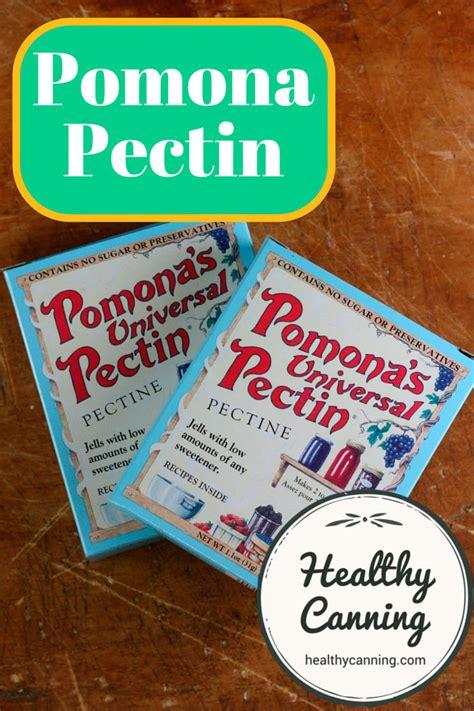 Shelf Of Pectin pomona pectin healthy canning
