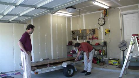 on a boat pulleys are used to raise and lower winch garage trailer lift tatv 9 youtube