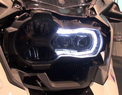 Motorrad Scheinwerfer Mit Led Tagfahrlicht by Led Tagfahrlicht Der Bmw R 1200 Gs New Autos Motorrad