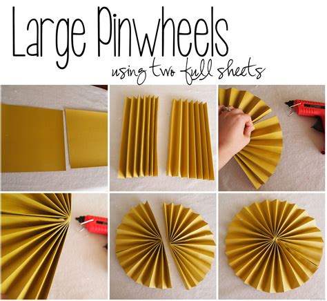 How To Make Paper Pinwheel Decorations - pinwheel collage using scrapbook paper reality daydream