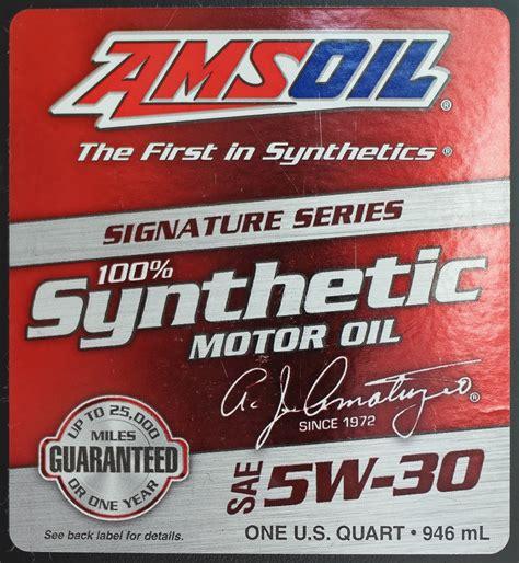 Amsoil Signature Series 5w30 Liter motor amsoil signature series 5w 30 synthetic motor logbook mazda cx 5 touring awd