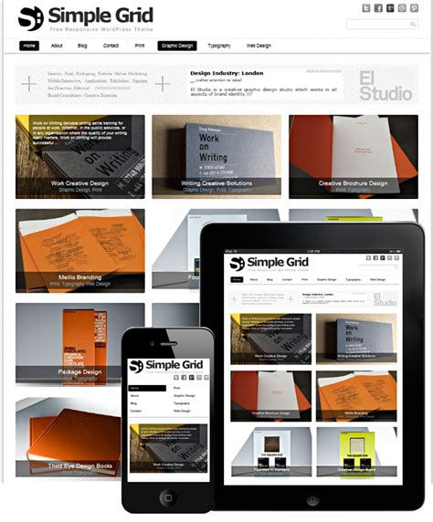 responsive grid template simple grid free template responsive