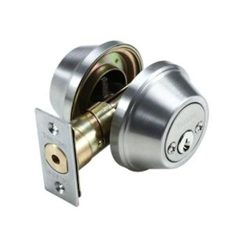 toledo locks cylinder satin stainless steel