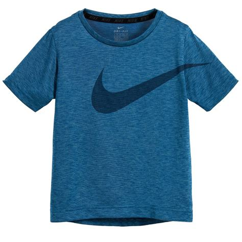 T Shirt 6 0 Nike Blue nike boys blue dri fit t shirt childrensalon