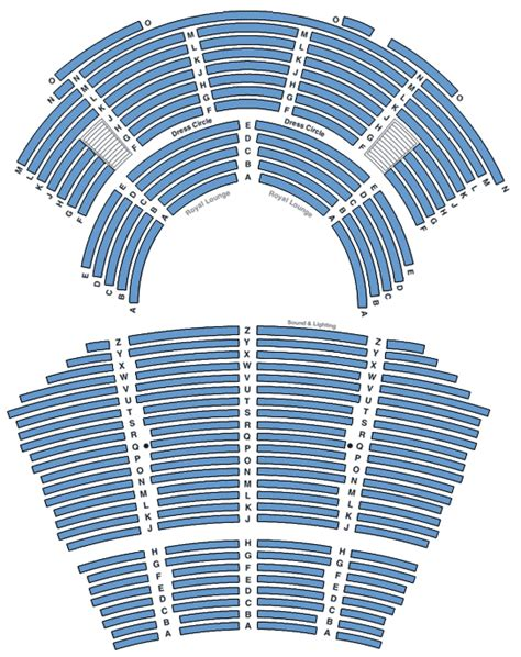 regent theatre floor plan ticketek new zealand