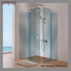 hotel three panel sliding glass shower door hardware buy