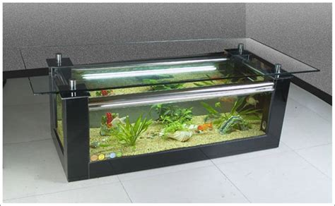 Fish Tank Tables They Hold Alive Tranquility Amazing Fish Tank Living Room Table