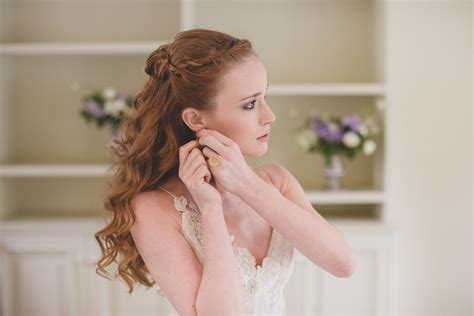 Wedding Hairstyles Braid Front by Waves Wedding Hairstyle With Braid In Front