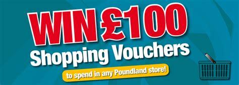 Win 100 Of Vouchers Hippyshopper 2 by Win 163 100 Shopping Closed Poundland