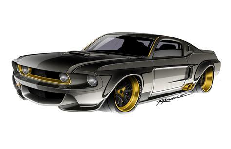 Best Garage Designs by 67 Mustang Ragle Design