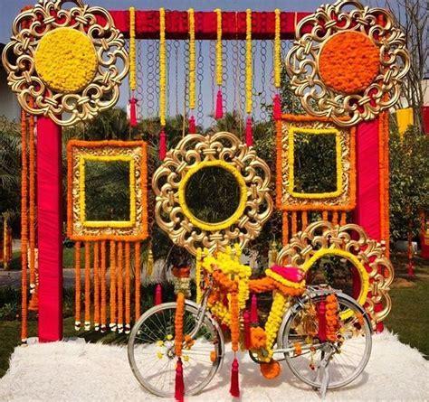 Beautiful photo booth for sangeet ceremony   Lohri in 2019