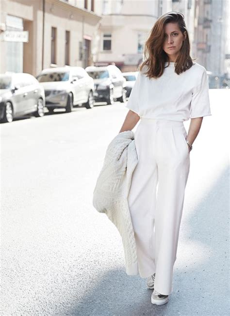 All White Outfit On Pinterest White Outfits White | all white outfits could this be the new all black the