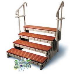 Spa Stairs by 4 Step Spa Step Tub Step Swim Spa Steps W Handrails