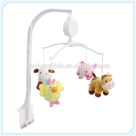 Hanging Toys For Crib by Wholesale Electirc Musical Rotated Baby Crib Mobile Plush