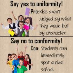 Pros And Cons Of Wearing School Uniforms Essay by School Quotes Quotesgram