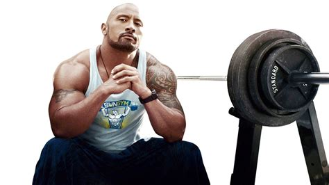 dwayne johnson bench train like dwayne the rock johnson