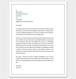 Award Letter Congratulations Congratulation Letter Template 18 Sles For Word Pdf Format