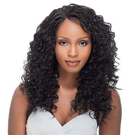 curly braids pictures micro braids hairstyles with long curly hair for black