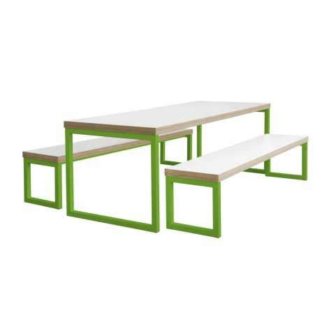college bench canteen tables benches for school college dining room
