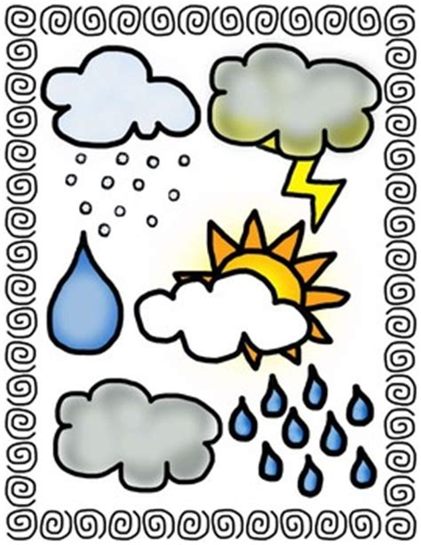 Weather Clip Art For Teachers | Clipart Panda - Free ... Free Clip Art Weather Pictures