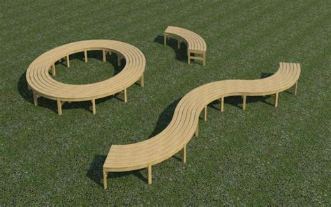 curved backless bench revitcity com object curved backless bench