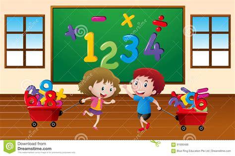 imagenes estudiando matematicas ni 241 os que aprenden matem 225 ticas en sala de clase