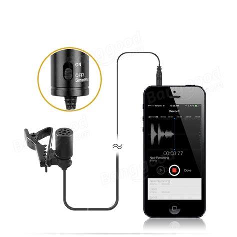 Sale Canon La Dc52c boya by m1 omnidirectional lavalier microphone for canon nikon sony sale banggood