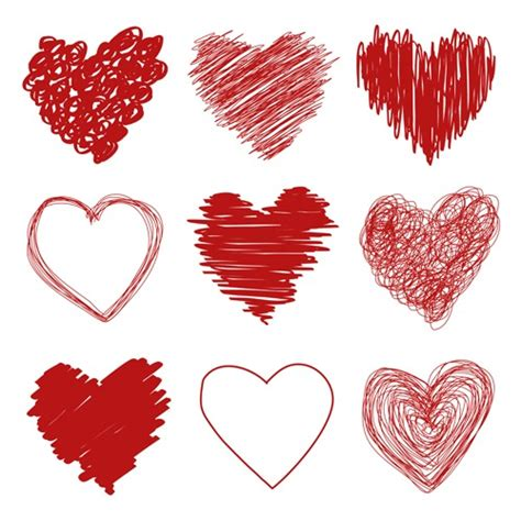 imagenes vectores para photoshop vectores de corazones gratis para descargar recursos web