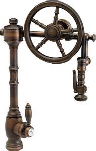 Best Pull Down Kitchen Faucets past and future meet in steampunk decor abode