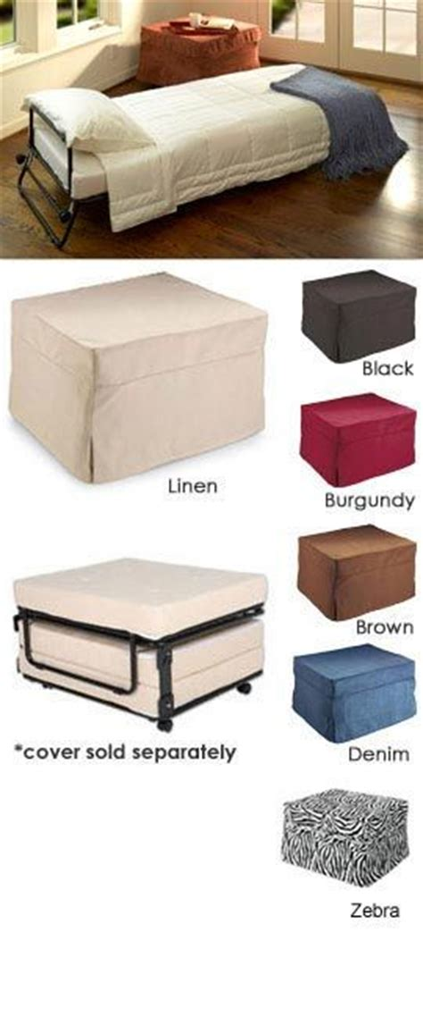 fold out ottoman bed 1000 ideas about chair bed on solid wood