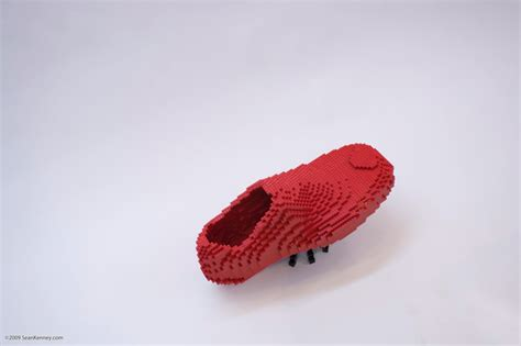 A Sad Sad Shoe Story by The Ant And The Shoe A Lego 174 Creation By Kenney