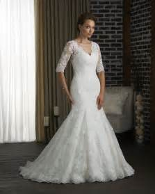 wedding dresses with sleeves photos of beautiful mermaid wedding dresses with