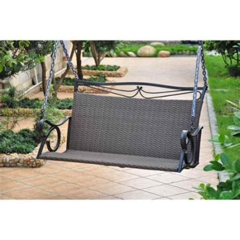 porch swings walmart wicker resin steel patio porch swing walmart com