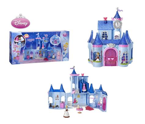 disney princess castle doll house disney princess castle dollhouse cinderella fairytale playset toy kids girls bn ebay