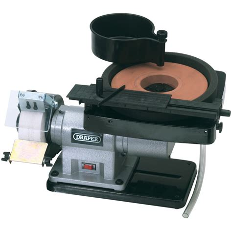 wet bench grinder draper 31235 gwd205a 230v wet and dry bench grinder