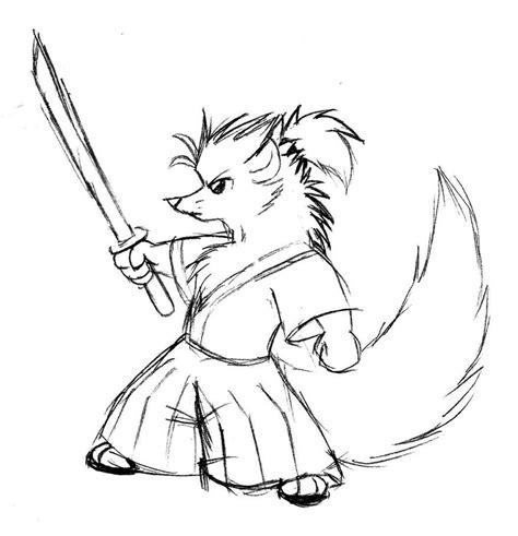samurai ferret thing by malamiteltd on deviantart