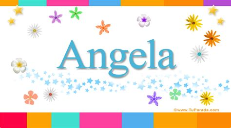 layout twitter significado angela significado del nombre angela nombres