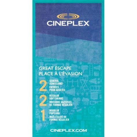 cineplex gift card cineplex night out more rewards