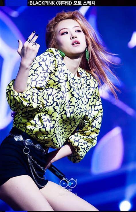 blackpink rose waist netizens are shocked with black pink rose s waistline
