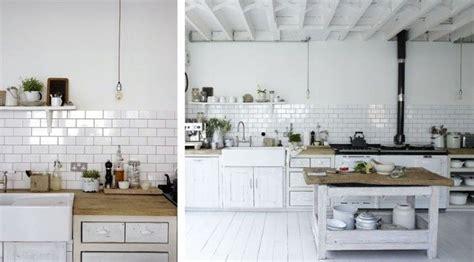 cocina azulejo blanco  mews decor pinterest