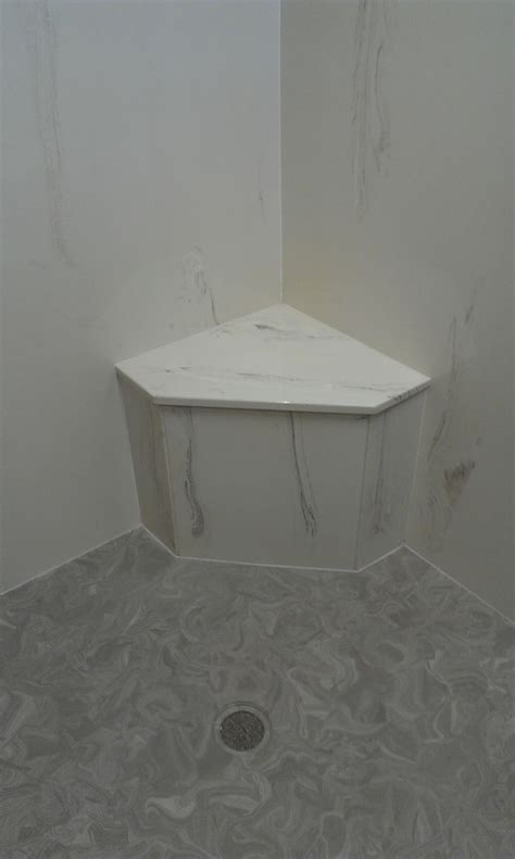 corner shower seat marble 12 best images about shower on contemporary