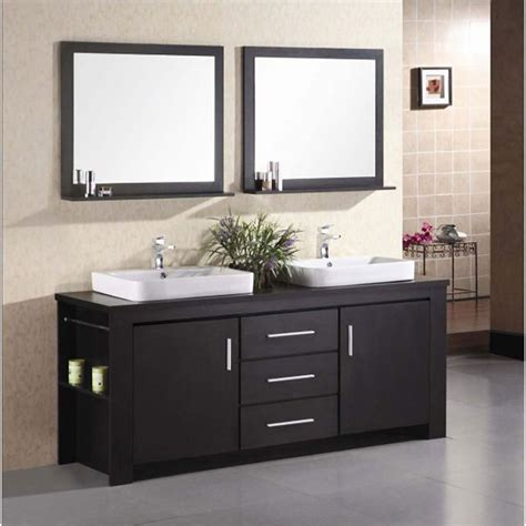 www bathroom design element washington 72 quot double bathroom vanity set