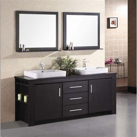 design element bathroom vanities design element washington 72 quot double bathroom vanity set