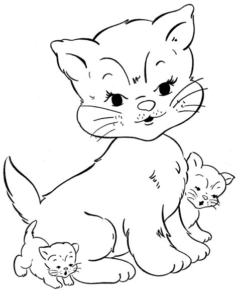 Cat Colouring Pages Free Printable Cat Coloring Pages For Kids by Cat Colouring Pages