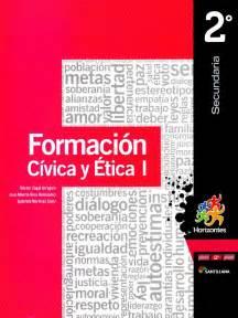 libro de formacion civica tercer secundaria 2016 formacion civica y etica 1 p 2do horizontes zagal