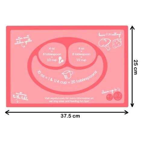 Ezpz Mini Mat Tempat Piring Makan Bayi ezpz plate berbahan silicone nempel kuat di meja