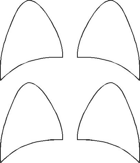 Cat Ear Template