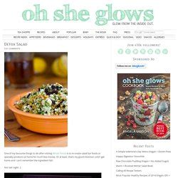 Oh She Glows Detox Salad by Vegies And Salad Pearltrees